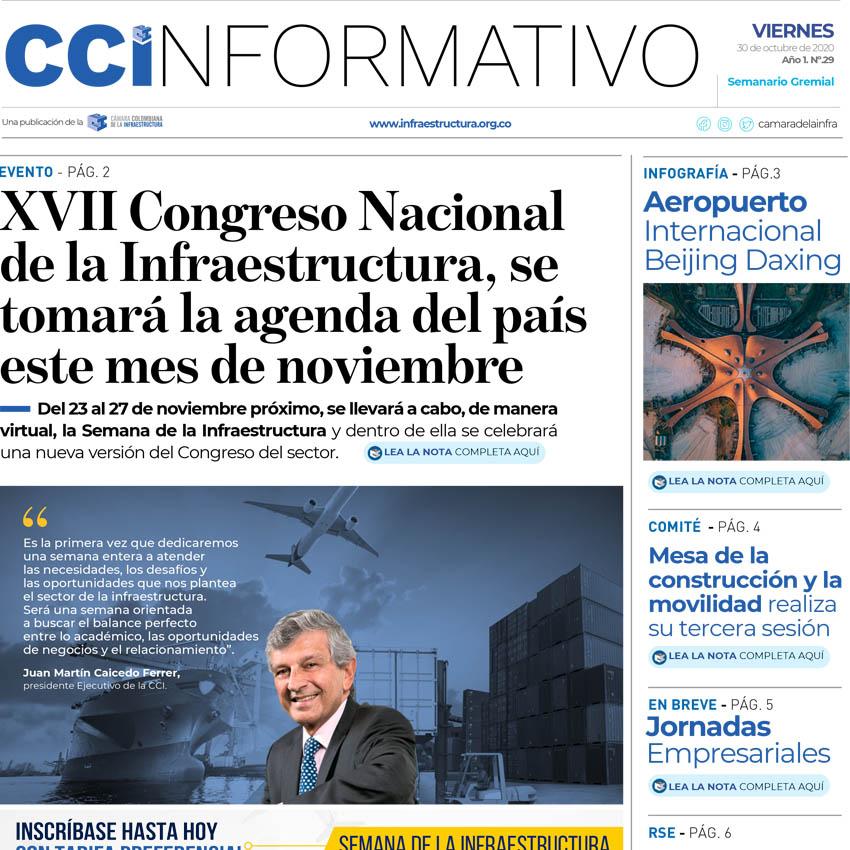 Edición No. 29 - 30 de octubre de 2020