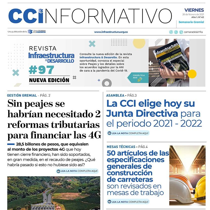 Edición No. 42 - 26 de febrero 2021