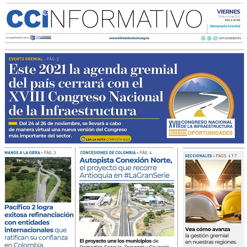 Edición No. 62 - 23 de julio 2021